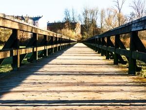 Автомобильный мост поврежден в Нижегородской области