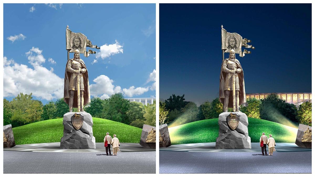 Эскизы проектов памятника Александру Невском показали нижегородцам - фото 3