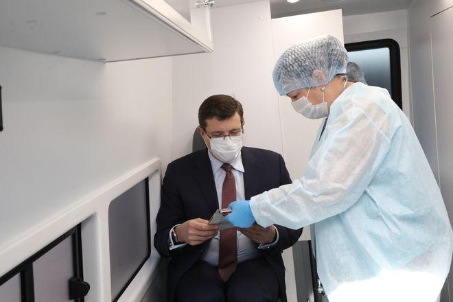 Глава Нижегородской области ревакцинировался от коронавируса - фото 2