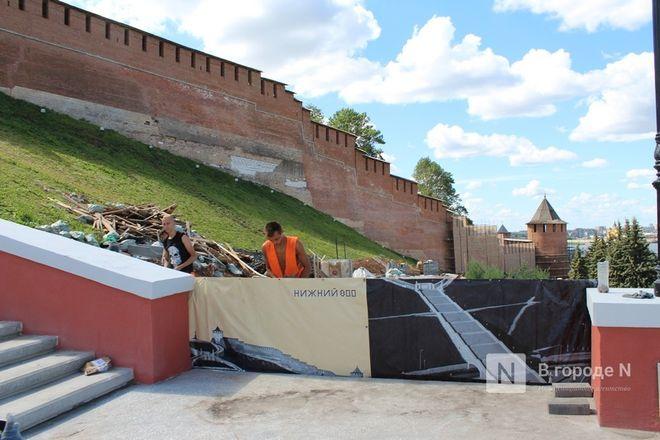 Чкаловскую лестницу открыли, несмотря на продолжающиеся ремонтные работы - фото 54
