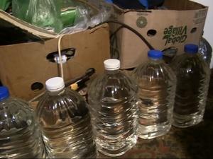 65 литров нелегального алкоголя изъяли полицейские у нижегородца