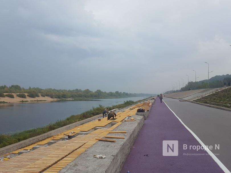 Основные работы на набережной Гребного канала завершатся в сентябре - фото 1