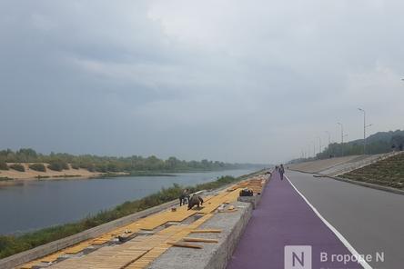 Основные работы на набережной Гребного канала завершатся в сентябре