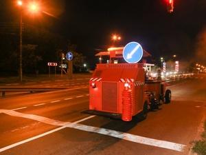 Современная разметка из термопластика появится на 40 дорогах в Нижнем Новгороде