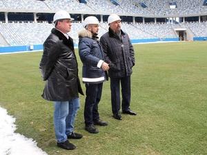 Министр строительства и ЖКХ РФ оценил степень готовности стадиона «Нижний Новгород» (ФОТО)