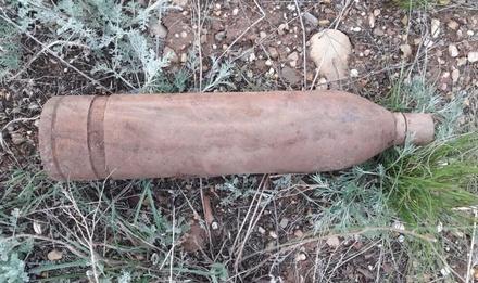 Нижегородцы нашли на свалке бытовых отходов артиллерийский снаряд