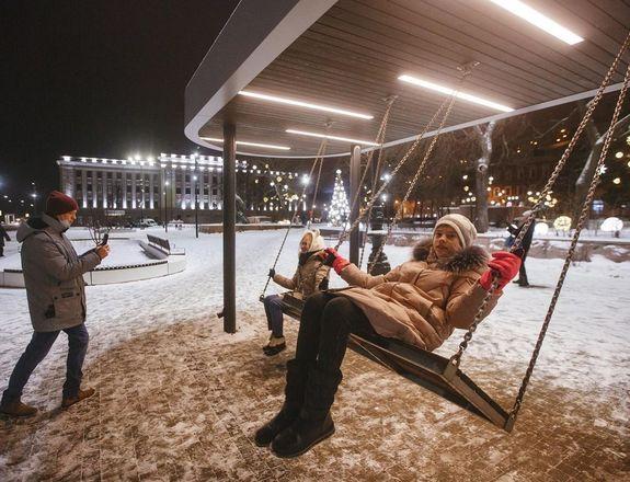 Три площадки в Нижнем Новгороде открылись после благоустройства - фото 4