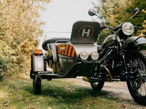 «Урал» представил электрический мотоцикл с коляской