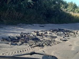 Дорогу в Кстове отремонтировали старыми сапогами