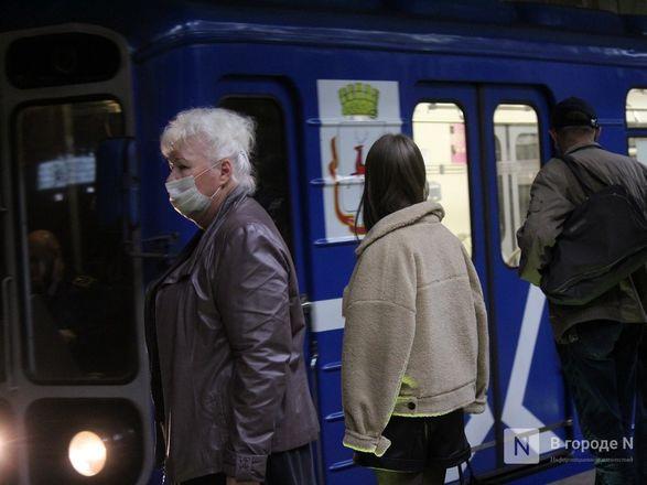 200 пассажиров нижегородского метро получили бесплатные маски - фото 25