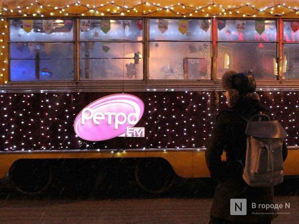 Нижегородский трамвай попал в международный опрос на самый красивый рождественский транспорт - фото 1