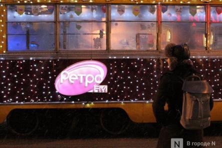 Нижегородский трамвай борется за звание самого красивого рождественского транспорта