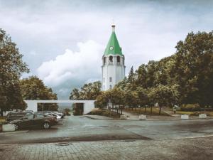 Колокольню с мостом и церковь планирует построить епархия в Нижегородском кремле