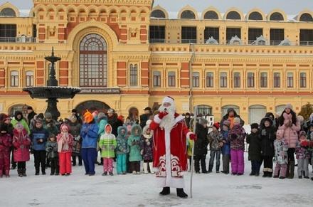 Благотворительная Рождественская елка впервые прошла в Нижнем Новгороде