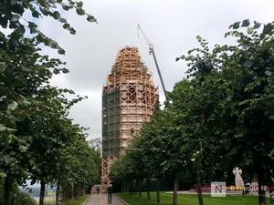 Крест и купол колокольни в нижегородском Кремле освятят 17 сентября