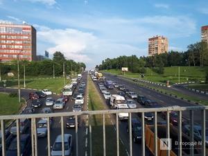 На километры растянулись пробки на подъездах к Нижнему Новгороде