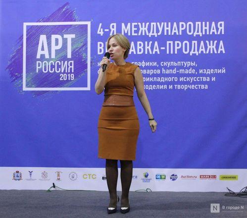 6000 квадратных метров искусства: выставка «АРТ Россия» открылась в Нижнем Новгороде - фото 7