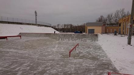 Скейт-парк построили в Сормове