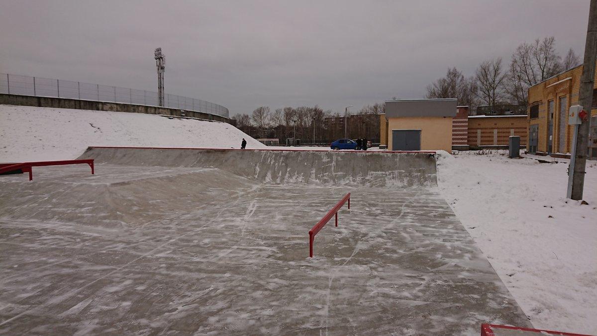 Скейт-парк построили в Сормове - фото 1