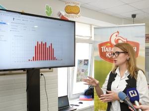 «Ростелеком» и «Павловская курочка» продемонстрировали работу интеллектуального сервиса