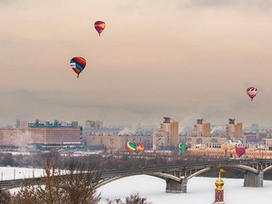 Фестиваль воздухоплавателей в Нижнем Новгороде перенесли из-за непогоды