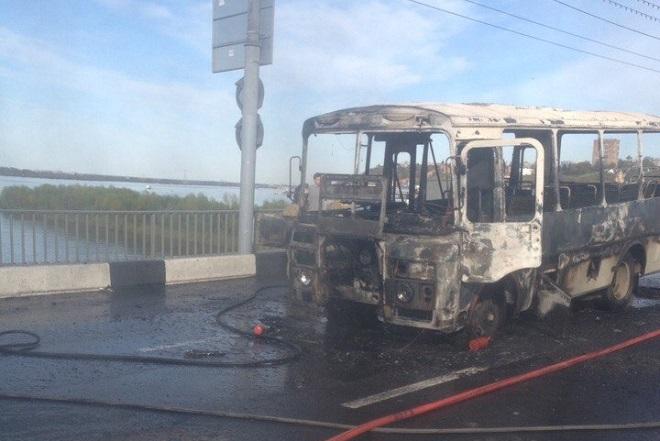 Новые детали возгорания маршрутки наКанавинском мосту