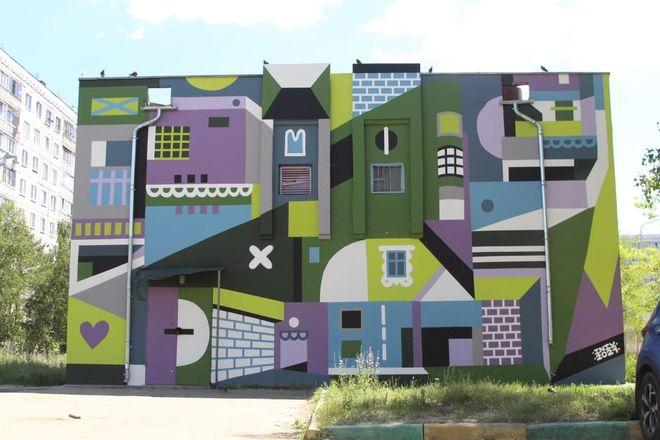 Художники украсили граффити-рисунками фасады АО «Теплоэнерго» - фото 3