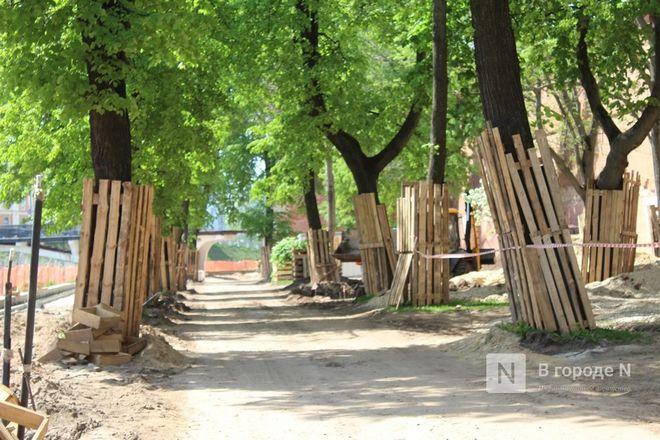 Благоустройство Кремлевского бульвара в Нижнем Новгороде  завершится 30 июля - фото 23