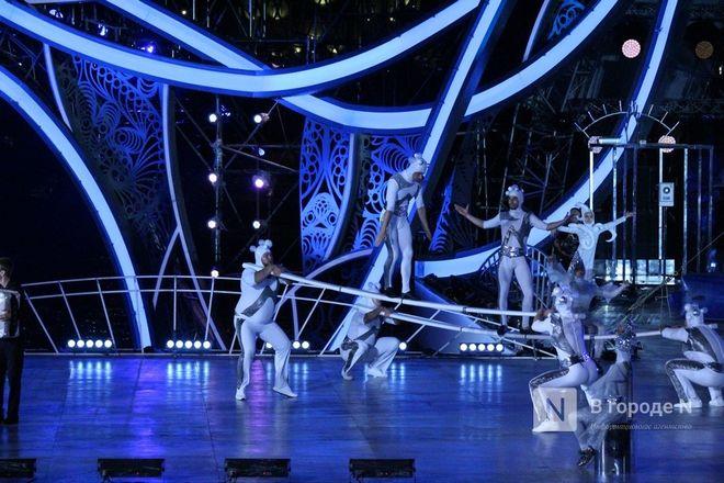 Огонь, вода и звезды эстрады: Как прошло гала-шоу 800-летия Нижнего Новгорода - фото 95
