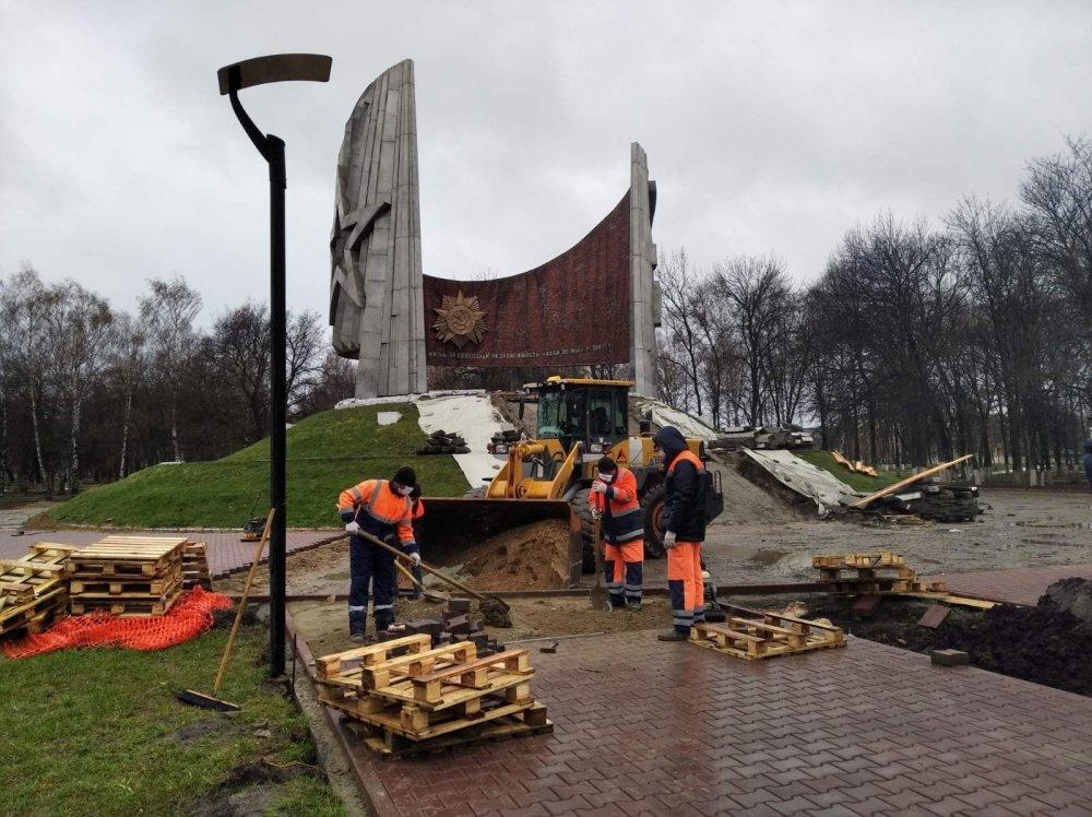 Благоустройство Парка Славы началось в Автозаводском районе - фото 1