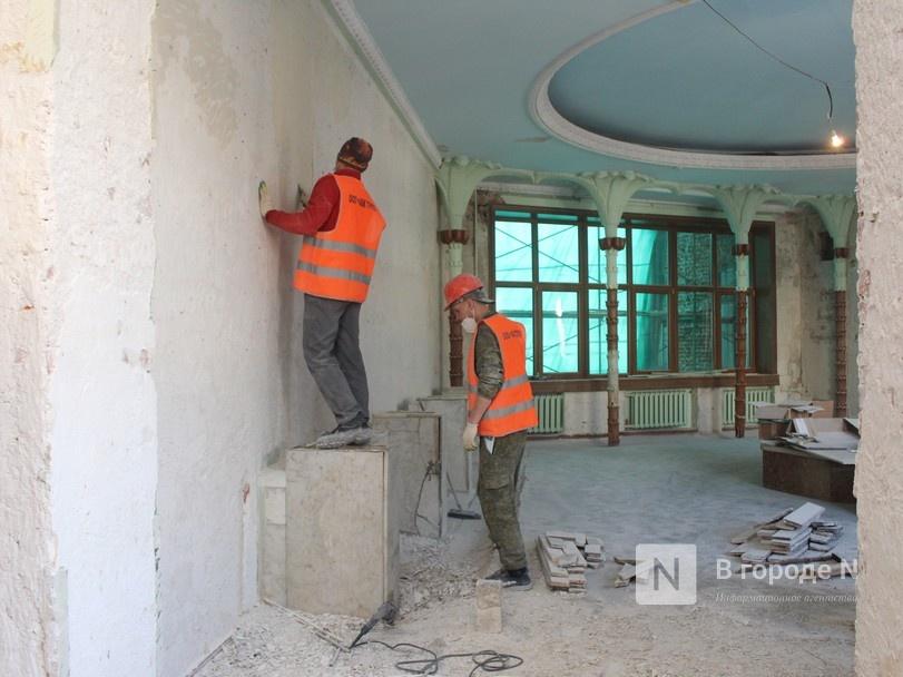 Единство двух эпох: как идет реставрация нижегородского Дворца творчества - фото 1