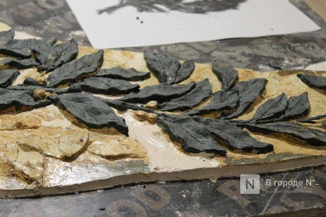 Реставрация исторической лепнины началась в нижегородском Дворце творчества - фото 35