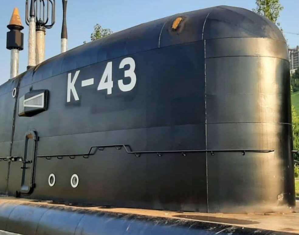 Рубку АПЛ «Скат» установили в нижегородском парке Победы - фото 1