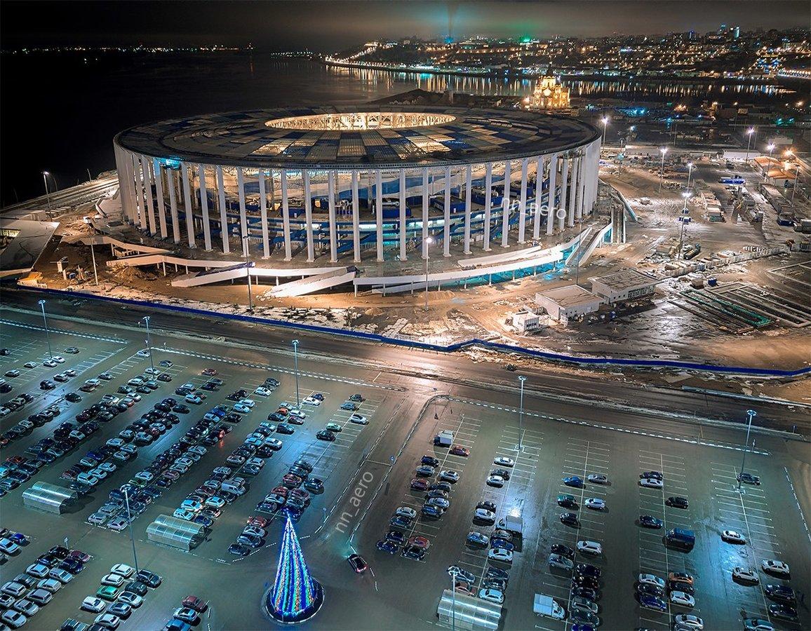 стадион нижний новгород фото бульдог