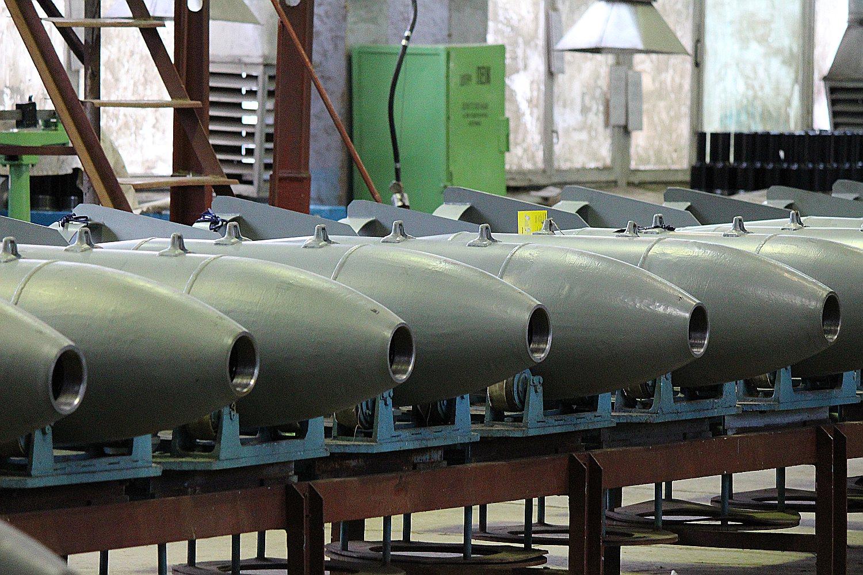 Необычайное производство фугасных авиабомб открылось вНижегородской области