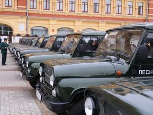 Больше сотни единиц техники получили нижегородские лесники