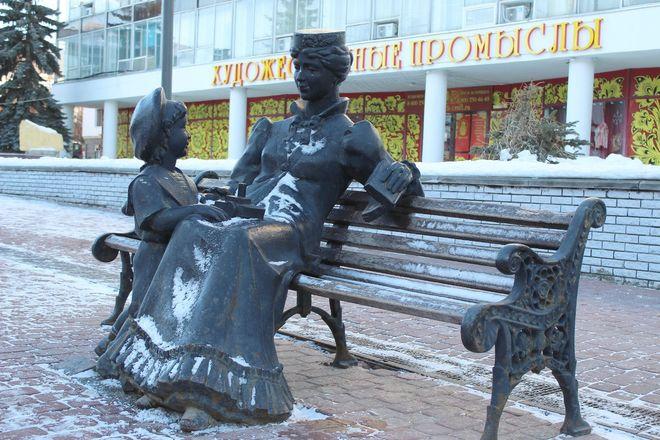 Материнство и любовь: каких женщин и за что увековечили в Нижнем Новгороде - фото 17
