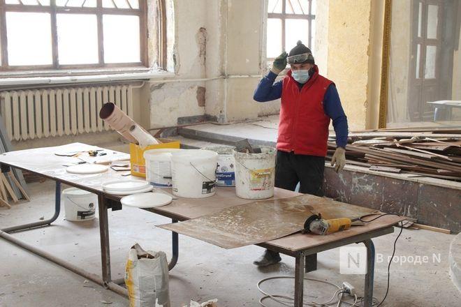 Реставрация Дворца творчества в Нижнем Новгороде выполнена на 10% - фото 4