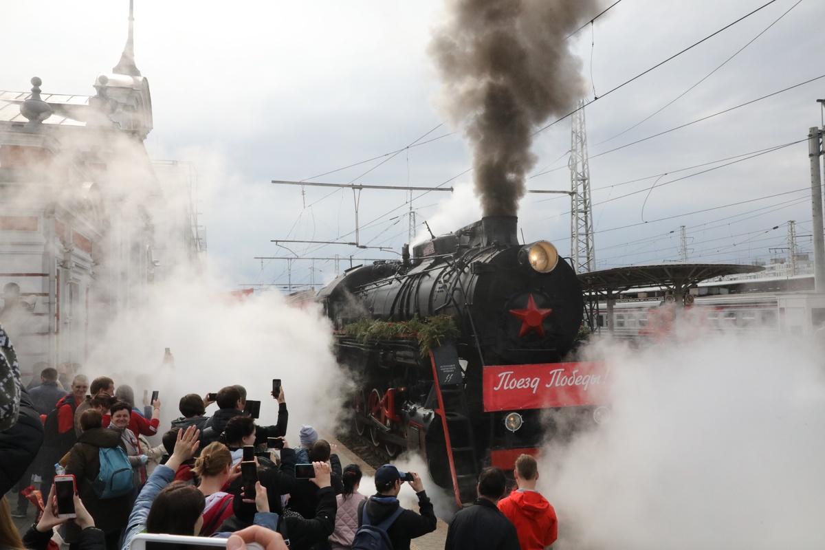 Поезд Победы снова прибыл в Нижний Новгород - фото 1