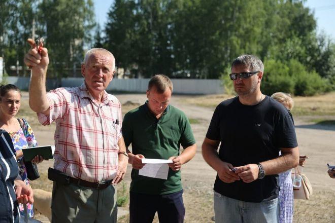 Глава Дзержинска посетил с рабочим визитом поселок Пыра - фото 1